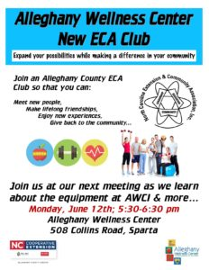 Cover photo for New ECA Club Meeting