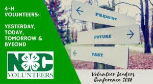 Volunteer Leaders Conference Sign