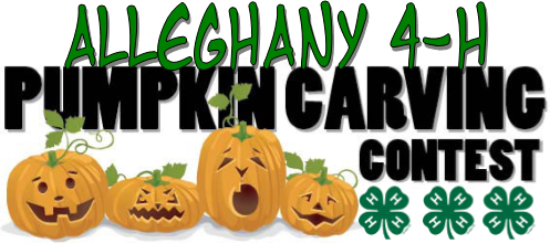 Alleghany 4-H Pumpkin Carving contest banner