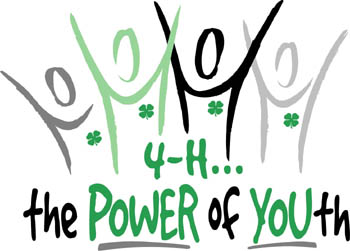 4-H Power of Youth - people with their arms raised