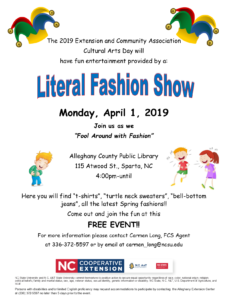 Cover photo for 2019 Cultural Arts Day to Feature Fashion Show