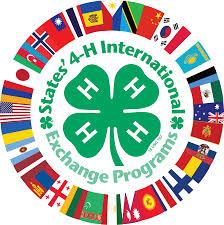4-H International Exchange Logo