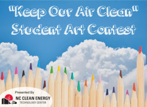 "Cover photo for ""Keep Our Air Clean"" Student Art Contest"