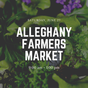 Cover photo for Alleghany Farmers Market Update!