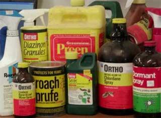 sample pesticides