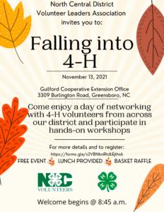 NCD Fall Day Info